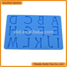 silicone alphabet silicone chocolate models