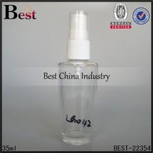 35ml spray perfume bottle, wholesale pet sprayer perfume bottle, refillable lotion bottle in dubai