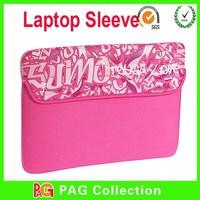 Slim customized printed neoprene laptop sleeve