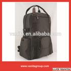 Fashion Branded Plain Nylon Laptop Backpack