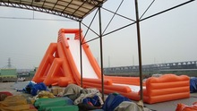 inflatable large water slide