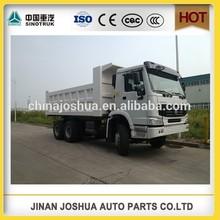 china sinotruk howo se utiliza isuzu camión de volteo