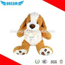 Custom soft plush dog toy/stuffed animal