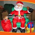 inflatable christmas figures/christmas inflatable/ low price christmas inflatable decoration