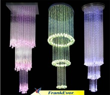 Lighting decoration anywhere you need, wonderful optic fiber chandelier!