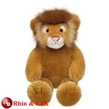 Meet EN71 and ASTM standard ICTI plush toy factory stuffed lion