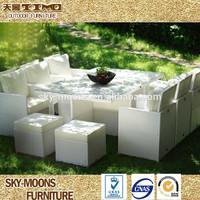 hot sale high quality rattan garden patio furniture deck rattan furniture(TC013)