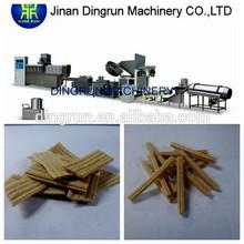 sweet stick snacks food machinery,flat snacks food making machine