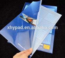 handmade plastic transparent files and folders