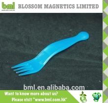 Meilleure qualité pas cher en plastique petite fourchette pour enfants