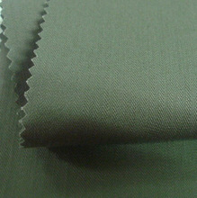 dyed cotton slub twill/herringbone fabric
