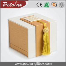 wholesale free shipping luxury leather unique jewelry gift boxes