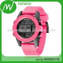cool trendy design silicone quartz advance watch