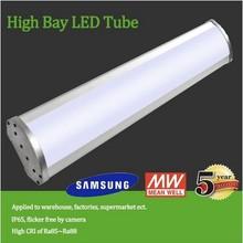 Motion Sensor Optional IP65 60/80/100/120/150/200w led high bay light 100w 5 years warranty