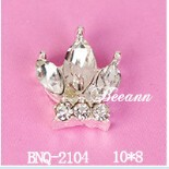 bling bling sparkle twinkle crown nail art ideas,nail art charms for brooches &phone decor