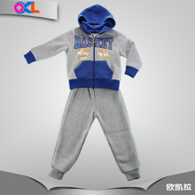 2015 latest design made in china children boys casual clothing set