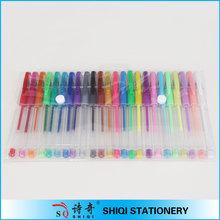 Hot selling assorted color artist gel ink pen