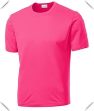 100% Polyester Quick Dry Moisture Performance Loose Fit Men's Athletic All Sport Training T Shirt Blank