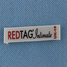 eco-friendly organza bag with label