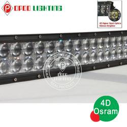Curved led light bar , New 5W Osram 4D lens 500w 52inch Curved led light bar