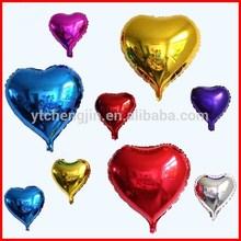 "36"" heart helium giant foil balloon/ 36inch foil balloons for wedding"