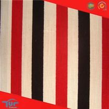 2015 Latest Dress Designs Wholesale Red Black Blue White Stripe Fabric