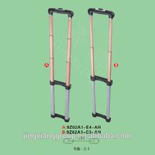 Guangzhou JingXiang Aluminium Bag Handle Detachable Bag Handles For Foldable Trolley Shopping Bag