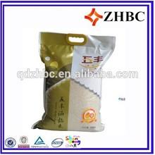 plastic rice bag 20kg bag manufacture