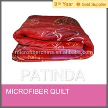 good quality Microfiber warm quilt