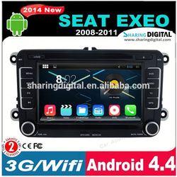 SharingDigital VWM-7698GDA support 3G android car radio 2 din for Exeo