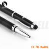 Jiangxin copper material top level new style mental 3in 1 stylus pen for touch screen computer