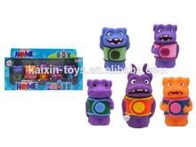 2015 3-4 inch new custom vinyl toy manufacturer vinyl figure Rotomolded PVC toys