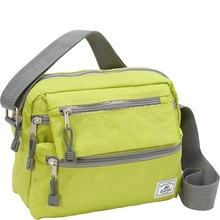unisex practical messenger bag / wholesale fashion design waterproof nylon with front pockerts man messenger bags