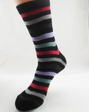 Mens Bamboo Socks Wholesale/Stripe Socks Bamboo