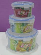easy-lock plastic food crisper
