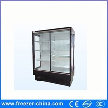2014 new design used to stoage fresh flower upright freezer