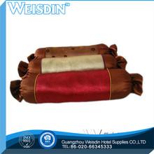 plain hot sale 100% polyester bamboo memory foam leg and foot pillow