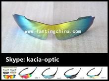 Revo yellow flash mirrored polarized lenses connection design