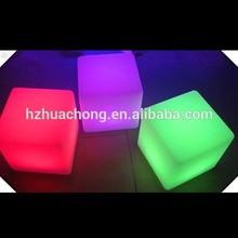 3D LED Cube Seat Lighting Waterproof LED Ice Cube Lighting HC-L010