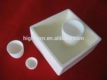 Industrial alumina ceramic crucible