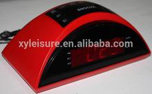 "gift PLL RADIO WITH LED CLOCK 0.9"" (or 1.2"") LED CLOCK PLL AM/FM RADIO"