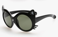 Crianças crianças de óculos polarizados óculos de sol frescos menina menino clássico óculos atacado