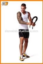 Stan Caleb fashionable men Gym base layer long tight/thinskin tight