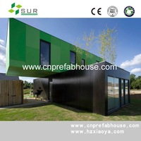 Hot Sale! Luxury Prefab Container Hotel and Living Container Home