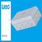 IP66 Waterproof Breaker Box With Fireproof Function and 4 ESM20 Pipe Coupling