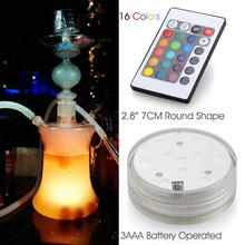 Waterproof LED Glass Art Hookah Shisha Glass led Hookah Factory
