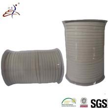 10 mm white polyester elastic band straps