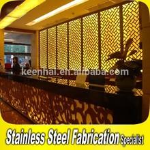 Modern Aluminum Room Divider Screen for Hotel Decoration