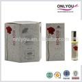 rojo rosa fragancia del perfume de aceite esencial