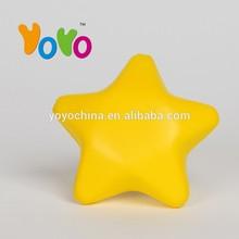 YOYO Customized Logo Promotion PU Stress Ball Star